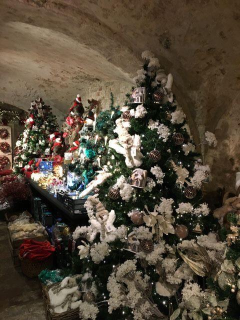 Kulkusalla, Brugge, joulukauppa