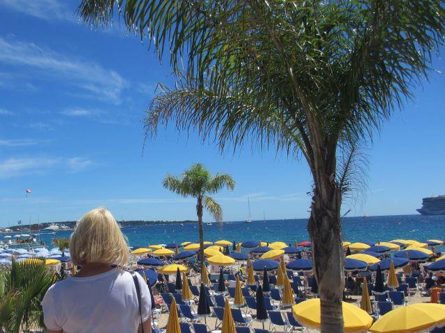 Cannes , ranta, kulkusalla