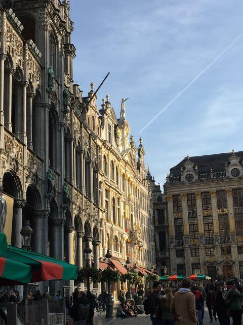 Kulkusalla, Grand Place, Bryssel