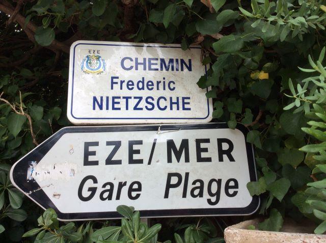 kulkusalla, Nietzschen polku, Eze, patikointi, miehen matkassa,