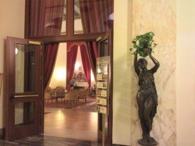 Hotel Quirinale, Kulkusalla Roomassa