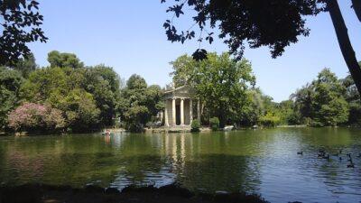 Villa Borghese, Kulkusalla Roomassa