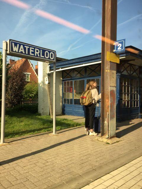 Kulkusalla, Waterloo asema